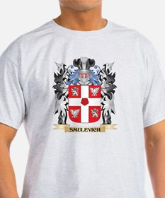 Smulevich Coat of Arms - Family T-Shirt