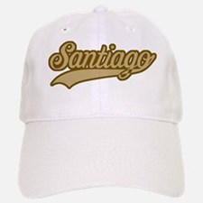 Retro Santiago Baseball Baseball Cap