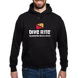 Dive rite Hoodie (dark)