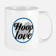 Hoop Love - Blue Mugs