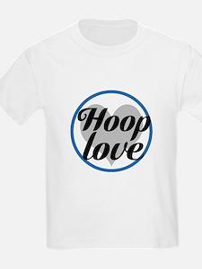 Hoop love - blue T-Shirt