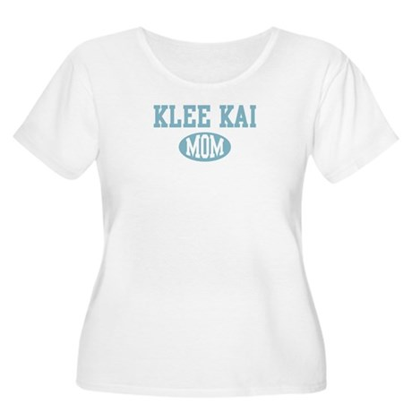 Klee Kai mom Women's Plus Size Scoop Neck T-Shirt