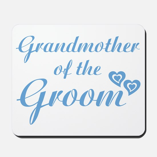 Grandmother of the Groom Mousepad