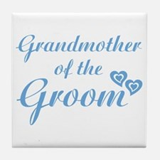 Grandmother of the Groom Tile Coaster