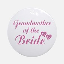 Grandmother of the Bride Ornament (Round)