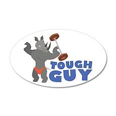 Tough Guy Wall Decal