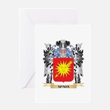 Spada Coat of Arms - Family Crest Greeting Cards
