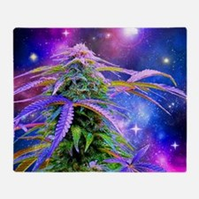 Funny Weed Throw Blanket