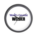 Worlds Greatest WELDER Wall Clock