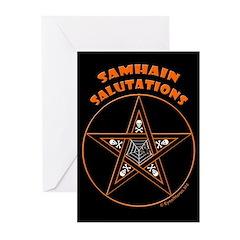 Samhain Pentacle Greeting Cards (Pk of 20)
