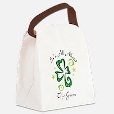 Shamrock Canvas Lunch Bag