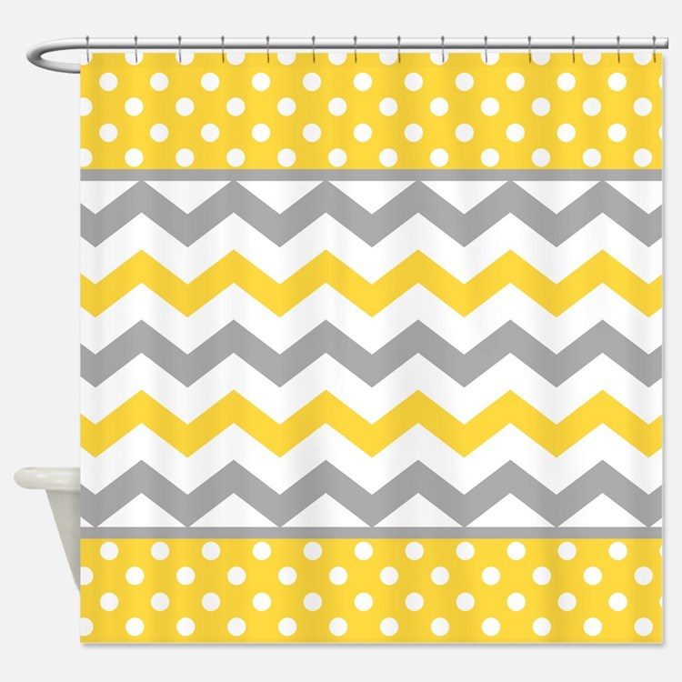 Gray And Yellow Shower Curtains Gray And Yellow Fabric Shower Curtain Liner