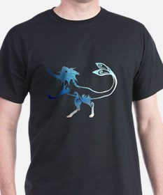Tribal Art Vaporeon T-Shirt