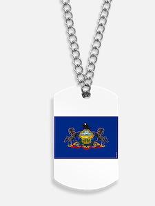 Pennsylvania State Flag Dog Tags