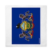 Pennsylvania State Flag Queen Duvet