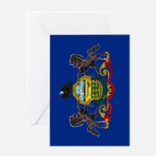 Pennsylvania State Flag Greeting Card