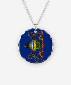 Pennsylvania State Flag Necklace