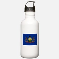 Pennsylvania State Fla Water Bottle