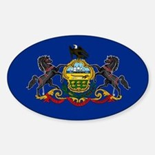 Pennsylvania State Flag Decal
