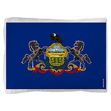 Pennsylvania State Flag Pillow Sham