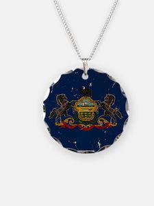 Pennsylvania State Flag VINT Necklace