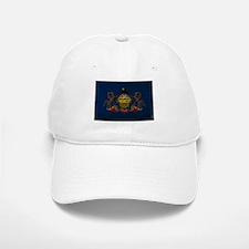 Pennsylvania State Flag VINTAGE Baseball Baseball Cap