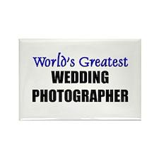 Worlds Greatest WEDDING PHOTOGRAPHER Rectangle Mag