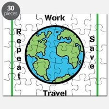 Work, Save, Travel, Repeat Puzzle
