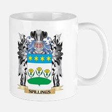 Spillings Coat of Arms - Family Crest Mugs