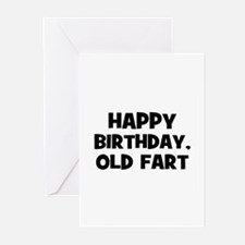 Happy Birthday, Old Fart Greeting Cards (Pk of 10)
