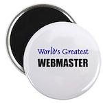 Worlds Greatest WEBMASTER Magnet