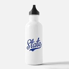 State Script VINTAGE Water Bottle