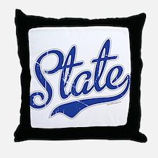 State Script VINTAGE Throw Pillow