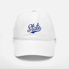 State Script VINTAGE Baseball Baseball Cap