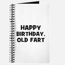 Happy Birthday, Old Fart Journal