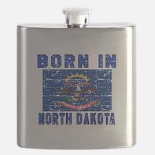 Born in North Dakota Flask