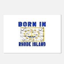 Born in Rhode Island Postcards (Package of 8)