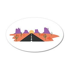 Desert Road Wall Decal