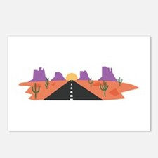 Desert Road Postcards (Package of 8)