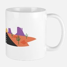 Desert Road Mugs