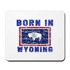 Born in Wyoming Mousepad