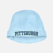 Pittsburgh - Jersey baby hat