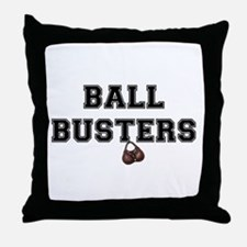 BALL BUSTERS - Throw Pillow