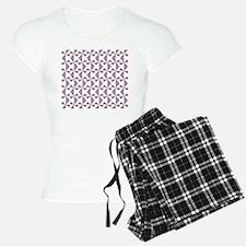 Lilac and Olive Pinwheels Pajamas