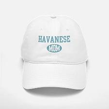 Havanese mom Baseball Baseball Cap