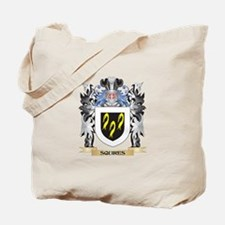 Squires Coat of Arms - Family Crest Tote Bag