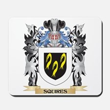 Squires Coat of Arms - Family Crest Mousepad