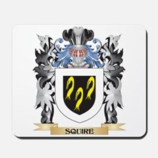 Squire Coat of Arms - Family Crest Mousepad