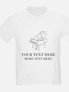 Custom piano T-Shirt