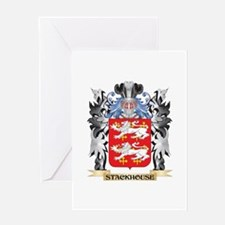 Stackhouse Coat of Arms - Family Cr Greeting Cards